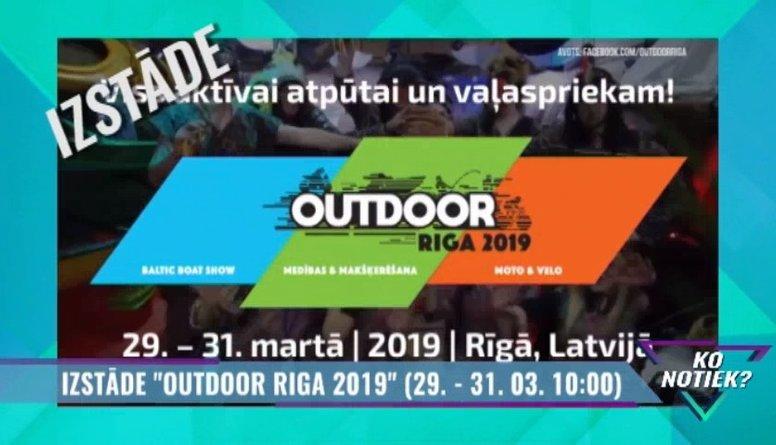 """Izstāde """"Outdoor Riga 2019"""" Ķīpsalā"""