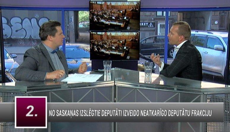 Rosļikovs: Mums ir vēlme mainīt situāciju Rīgas domē