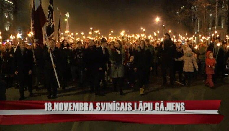 Latvijas 101. gadadienas svinības Rīgā 1. daļa