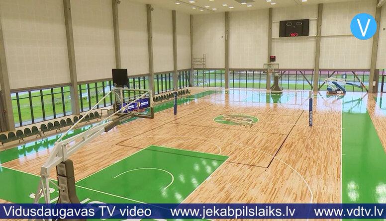 Atklāta Jēkabpils sporta halle