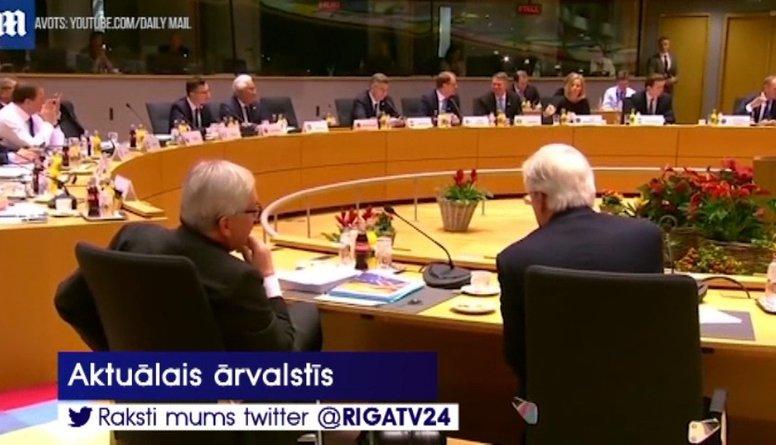 """Eiropas Savienība pieņēmusi rezerves plānu nekontrolēta """"Breksita"""" gadījumam"""