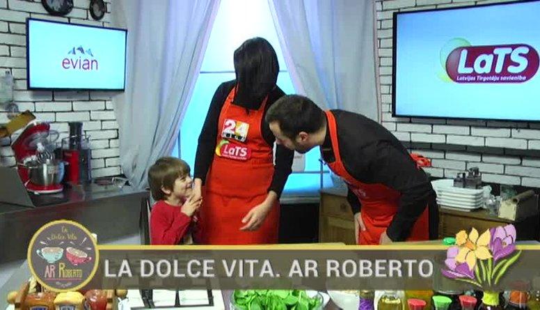 14.03.2017 La Dolce Vita. Ar Roberto 1. daļa