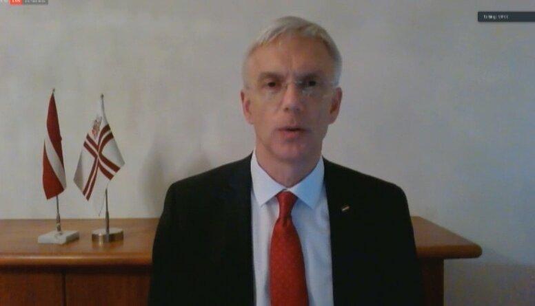 Premjers Kariņš par piešķirto atbalsta finansējumu medijiem