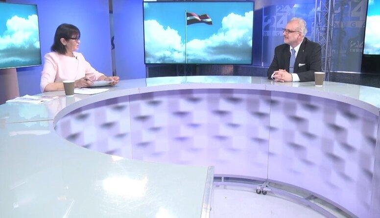 Valsts prezidents par atbalstu Latvijas medijiem