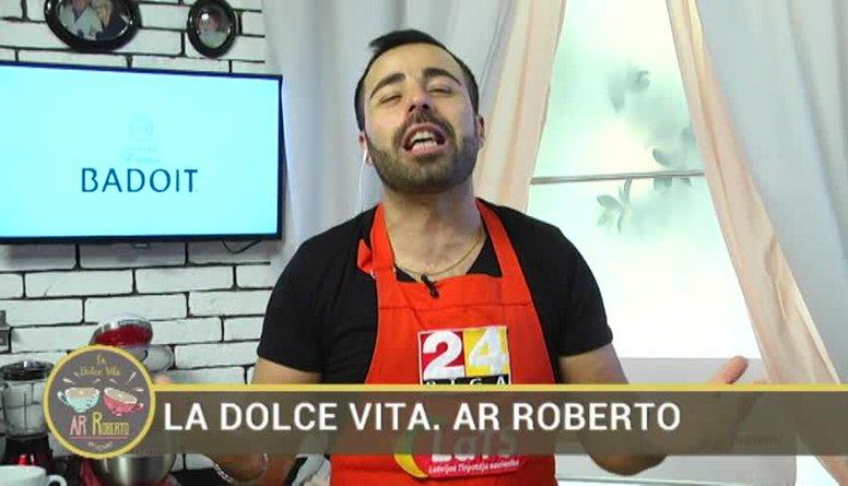 04.01.2017 La Dolce Vita. Ar Roberto 1. daļa