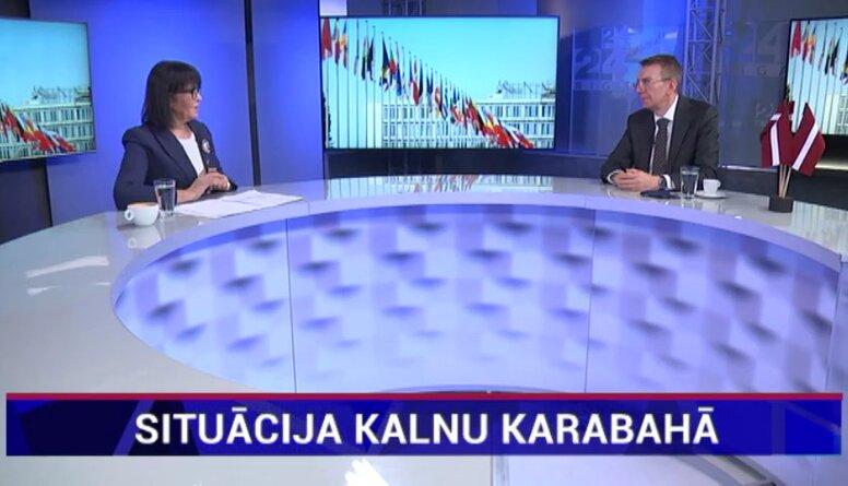 Ārlietu ministrs: Situācija Kalnu Karabahā ir bumba ar laika degli