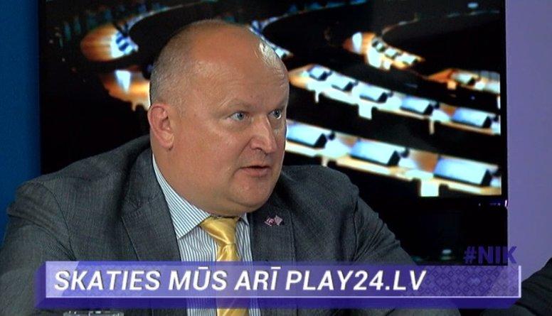 """R.Balodis: """"Saemā valda partiju kartelis - slēpta sadarbība Saskaņai, ZZS un Vienotībai"""""""