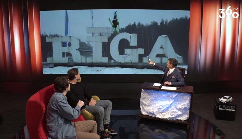 """Sarunu šovs par sportu """"Hattrick ar Puči"""" 3. sezona 2. epizode"""