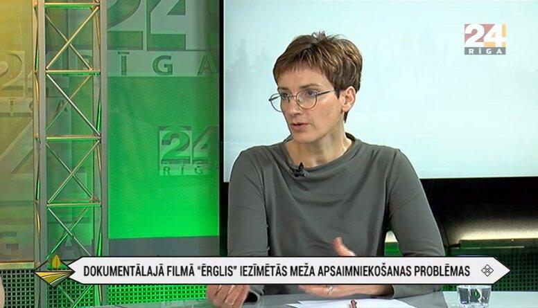 """Latvijas meža īpašnieku biedrības izpilddirektore par Nacionālā parkā """"Ķemeri"""" izciršanu"""