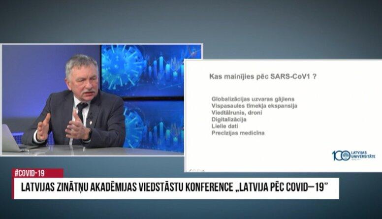 """Indriķa Muižnieka lekcija LZA viedstāstu konferencē """"Latvija pēc Covid-19"""""""