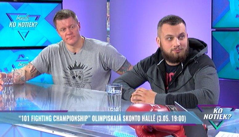 """101 Fighting Championship"" Olimpiskajā Skonto hallē"