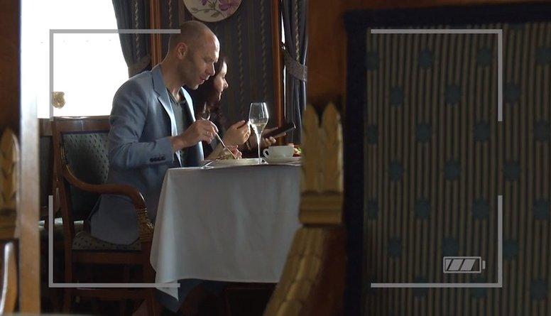 Kas restorānā nepatika Aleksandram Pavlovam?