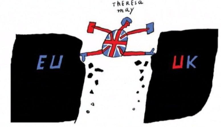 Ieskaties: Politiskie notikumi karikatūrās!