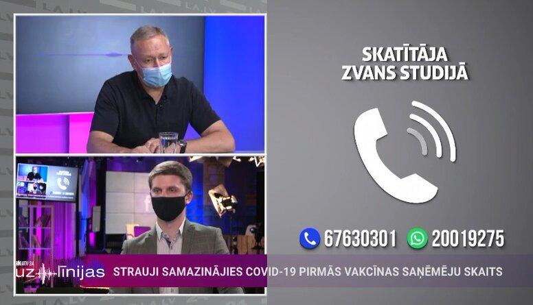 """Māris Rēvalds par """"AstraZeneca"""" vakcīnas izmantošanu revakcinācijā"""