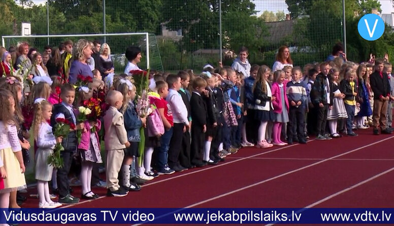 Jaunais mācību gads Jēkabpils skolās
