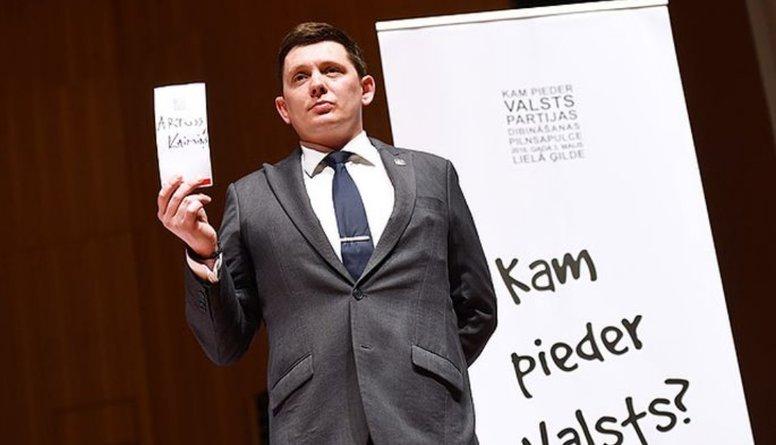 """Vai Kaimiņš ir izolēts no """"KPV LV"""" frakcijas sēdēm?"""
