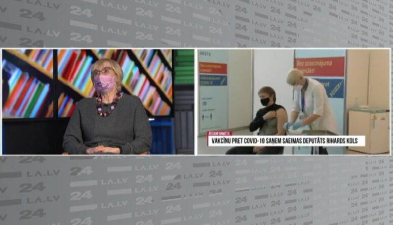 Circene: Alerģija pret vakcīnu parādās uzreiz, bet tāda komplikācija ir reta