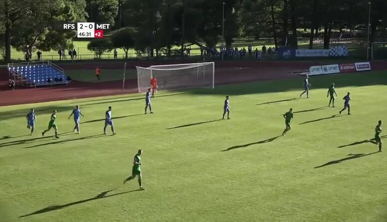 Optibet futbola virslīga: RFS - FK Metta