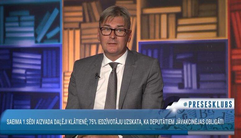 Mārtiņš Bondars par Covid-19 saslimstības rādītājiem Latvijā
