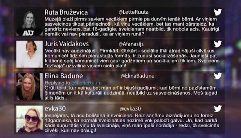 Tvitersāga: Sveicināšanās kultūra