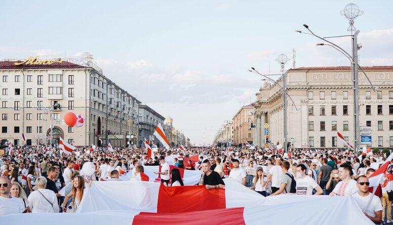 Līdaka: Protesti Baltkrievijā ir cilvēciska cīņa par taisnību