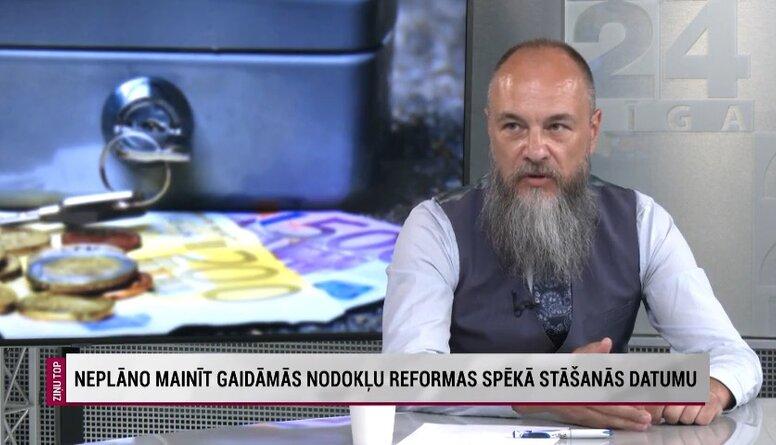 Imants Parādnieks aicina sabiedrību izprast nodokļu reformas mērķi