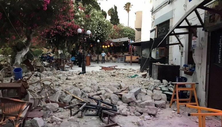 Grieķijā notikusi 5,5 magnitūdu zemestrīce