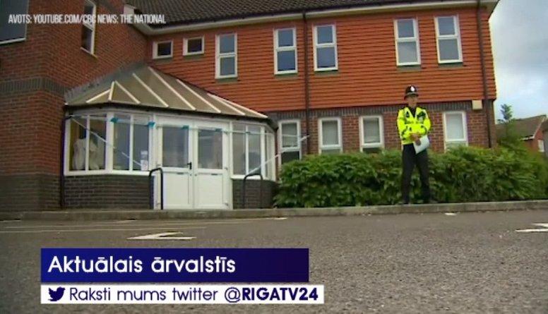 """Lielbritānijā divi cilvēki saindējušies ar nervus paralizējošo vielu """"Novičok"""""""