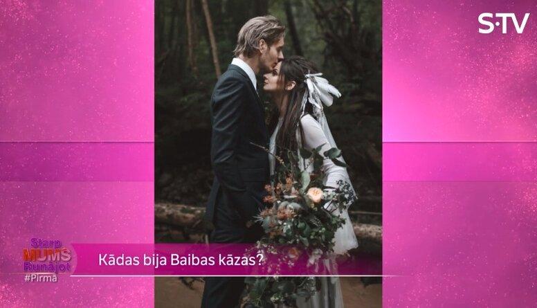 Vai Baiba Prindule-Rence pati dekorēja savas kāzas?