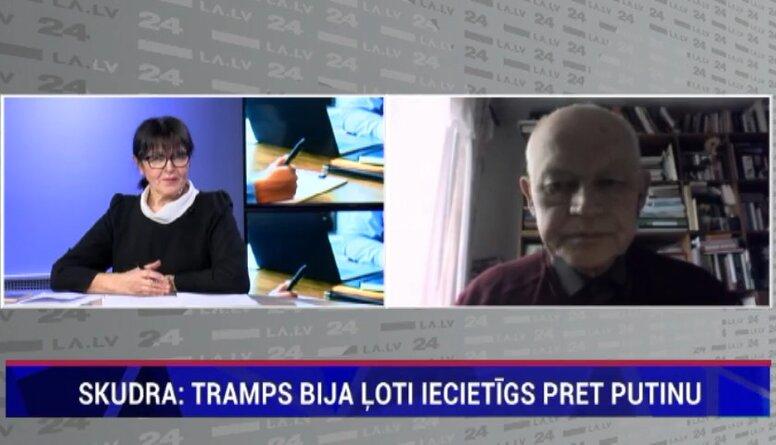 Skudra: Tiek ziņots, ka ES un ASV pasludinās jaunas sankcijas pret Krievijas amatpersonām