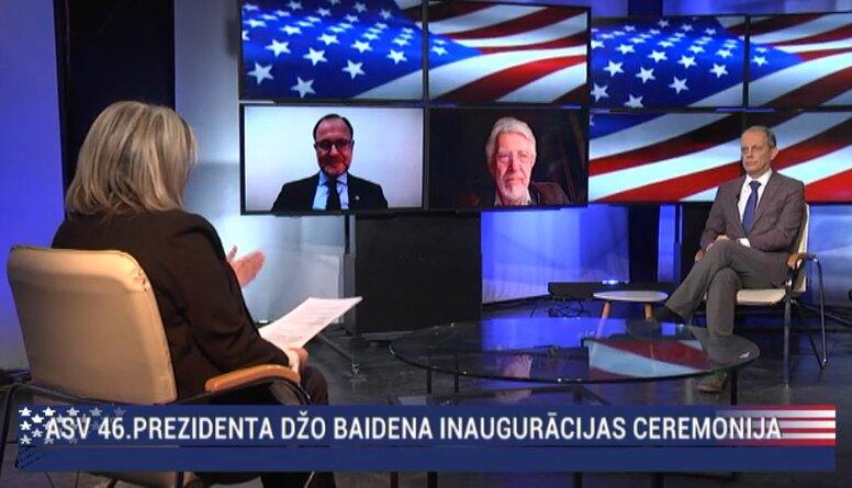 Speciālizlaidums: ASV 46. prezidenta inaugurācijas ceremonija 2. daļa