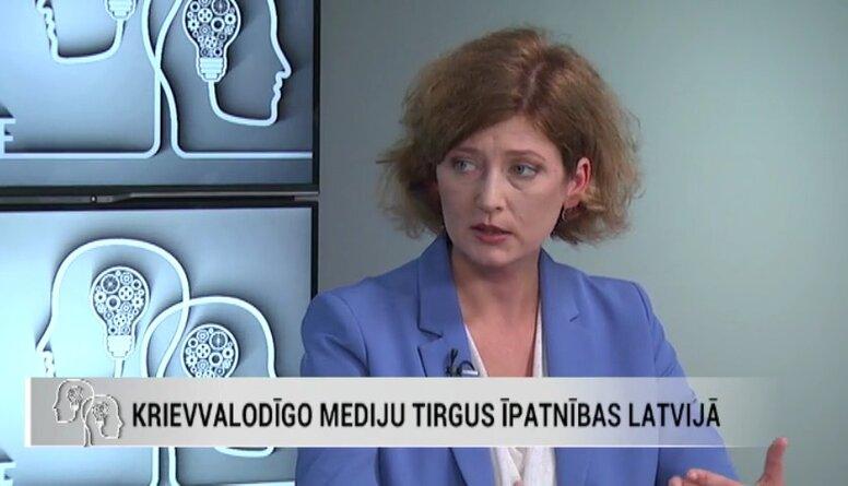 Ieva Bērziņa: Kremļa kontrolētie mediji konstruē divas atšķirīgas pasaules, un cilvēki to zina