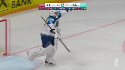 Spilgtākie momenti: Latvija pret Kazahstānu