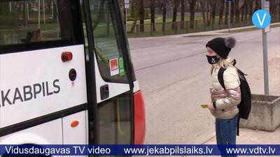 Ierobežotas iespējas izmantot braukšanas atlaides Jēkabpils pilsētas autobusos