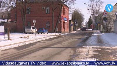 Kuras ielas Jēkabpilī šogad tiks pārbūvētas, kuras – asfaltētas?.