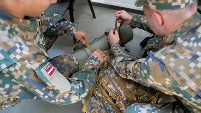 Topogrāfija, šaušana no prettanku ieročiem un ne tikai. Ko māca rezervistu militārās apmācībās?