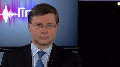 Dombrovskis: Latvijas ekonomikas izaugsmes temps samazināsies