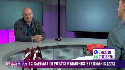 Raimonds Bergmanis par sabiedroto militāro spēku klātbūtnes nozīmi Latvijai