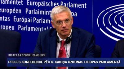 Speciālizlaidums: Premjera Kariņa uzruna Eiropas Parlamentā 3. daļa