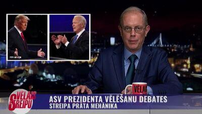 Streipa prāta mehānika: ASV prezidenta vēlēšanu debates