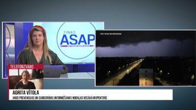 Latvijā sācies lietains laiks: kas jāzina par drošību negaisa laikā?