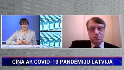 """""""Riski ir tūkstošiem reižu mazāki nekā ieguvumi"""" - Ivars Kalviņš par vakcināciju pret Covid-19"""