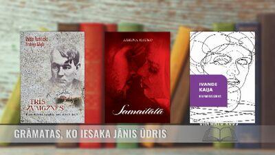 Grāmatas, ko iesaka Jānis Ūdris