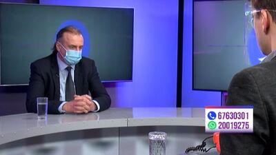 Andrejs Ērglis par Covid-19 vakcinācijas plāna izpildi Latvijā