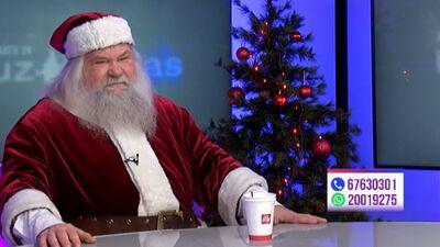 Sirsnīgs Ziemassvētku vecīša novēlējums svētkos