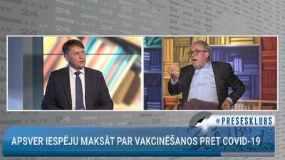 Diskusija par parlamentārās izmeklēšanas komisijas darbu vakcīnu iepirkuma jautājumā