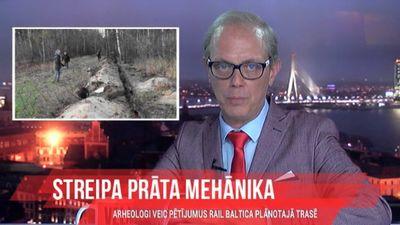 Arheologi veic pētījumus Rail Baltica plānotajā trasē