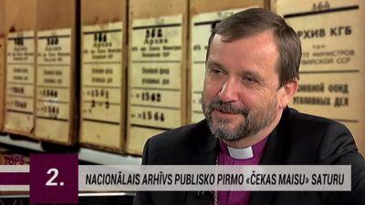 Arī mācītāju vidū atrodami VDK aģenti - komentē arhibīskaps Vanags