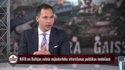 NATO dalībvalstu karavīru kaujas tehnikas klātbūtne Latvijā ir sava veida drošības garants