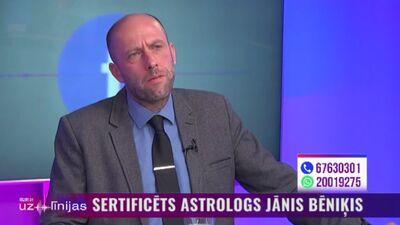 Astrologs Jānis Bēniķis: Krīze sāks mazināties pavasarī